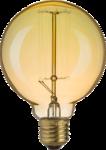 ЛОН Е27 Винтаж 60вт G95 Лампа накаливания декоративная 60вт  230в Е27 винтаж 71956