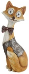 Украшение солн. коричн. ЭРА . светильник SL-RSN32-FOX   Садовый  на солнечной батарее, полистоун, цветной, 32 см  (1/8)