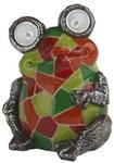 Украшение солн. зеленый ЭРА . светильник SL-RSN14-WITR   Садовый  на солнечной батарее, полистоун, цветной, 14 см  (1/24)