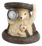 Украшение солн. черн. золото ЭРА . светильник SL-RSN11-HDG2   Садовый  на солнечной батарее, полистоун, цветной, 11 см  (1/48)