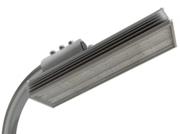 Св.консоль с/д  80Вт ДКУ светильник  светодиод уличный 5000К 8000Лм IP65 408х104х58мм LC PLO (2)