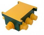 КРН  КР1301  120х80х60, 8 вводов, для монолита, с крышкой, IP44, (72/1)