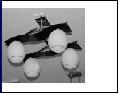 """Люстра """"рожки модерн 4"""" .. светильник потолочный 6956/4A CR"""