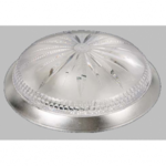 Св. подвес. круг Хром IP20 Isildar Е27 1147 .D=400mm Свет.подвесной Ромашка тренд потолоч.60Вт 2 лампы d400 h105 1\4сферы