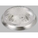 Св. подвес. круг Хром IP20 Isildar Е27 1149 .D=400mm Свет.подвесной ТРЕНД капля потолоч.подвес 60Вт. 2 лампы d400 h105 1\4сферы