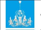 """Люстра """"ретро свечи 8"""" .. светильник потолочный B11188/8CW Люстра классическая с хрусталем Ben Crezo (Италия)"""