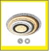 """Люстра """"LED D=500"""" LED-3000К/4000К/6000К светильник потолочный Св. подвес. комн.  LED  65Вт бел. Управляемый светодиодный светильник GEOMETRIA BULB  R"""