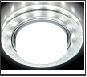 СТ LEDподсв. GX53 бел.-серебро круг  G248 W/CH белый/серебро +3W(LED WHITE)Ambrella