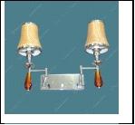 Бра 2-рожк. бра Н711/2 (24) (1) Светильник бытовой настенный с абажуром (ДС 220V 40W E14)