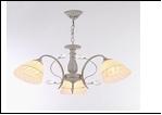 """Люстра """"рожки ретро 3"""" .. светильник потолочный 7319/3C (6) WG E27 620*540"""
