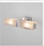 Подсветка 2-рожк. светильник G-9  1228 AL14 /  настенный Duplex 2x28W хром