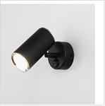 Св. комн. 1-рожк. GU10 светильник MRL 1003 /  настенный Rutero  SW черный