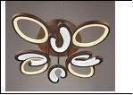"""Люстра """"LED светильник потолочный 5030/4+4Y (2) CFC LED 13/16W 3000/6500K 835*150  с ПДУ"""