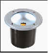 Свет-к круглый 220V LED COB 1*5W   IP67 сатин-никель  UG0230 Wh