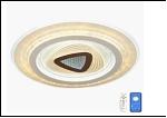 "Св. комн. ""LED D=500"" LED-3000К/4000К/6000К светильник 29356/150W (5) WT LED 6/7/18/19/25W 6500/3000К 490*50 люстра (дим)"