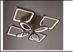 """Люстра """"LED.. светильник потолочный 5053/4+4Y (2) CFC LED 11/18W 3000/4000K 840*150  с ПДУ"""