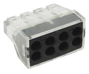 Строительно-монтажная клемма СМК, модель 108, 8 отверстий, 1.0-2.5мм2 (уп.50шт.) EKF PROxima
