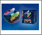 Св.улич. солн. прозрачный UNIEL . светильник USL-S-115/PT090 Садовый светильник на солнечной батарее Magic butterfly Серия Special Упаковка- коробка,