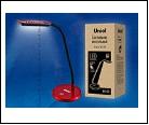 Св. настол. LED  6Вт Подставка светильник настольный TLD-510 Red/Светильник настольный Uniel (/6W/550Lm/4500K/С диммером/Цвет-красный), шк 46904850465