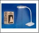 Св. настол. LED  4Вт Подставка светильник настольный TLD-528 Grey/4W/Светильник настольный//400Lm/4500K/Механический выключатель/Цвет темно-серый, шк
