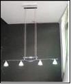"""Люстра """"рожки модерн 4"""" .. светильник потолочный FH 333 P4 CH PR"""