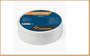 ТВ SAT-703 кабель Vinon SAT 703 100м (бел.)