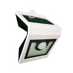 Св. влаг/защ LED квадр.   4,5Вт бел. 6000K IP54 светильник Светильник  на солн. бат. с дат.28 LC Светлячок 4,5 Вт 520Лм  142х66х95мм (1/20)