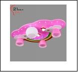 """Люстра """"рожки модерн 4"""" LED-Blu светильник потолочный 197/4+3  (1) (1) Светильник бытовой потолочный (220V 40W E14, 220V 40W E27,светодиоды 12V 3W)"""
