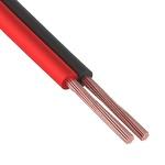 Акустический  2 х 0.25 кв.мм Кабель красно-чер (P)  (100)