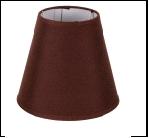 """Плафон Е14 без крепл. """"подвес ."""" .. . 10X18X16CM-E14 Chocolate (24)(1) Абажур"""