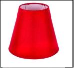 """Плафон Е14 без крепл. """"подвес ."""" .. . 10X18X16CM-E14 Red (24)(1) Абажур"""