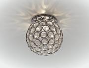 СТ об.хрусталь G9 хром шар светильник Светильник Ambrella D1000 CH