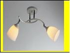 """Люстра """"рожки разн. 2"""" .. светильник потолочный 3806/2N (10) WT+CR E27 575*205*240"""