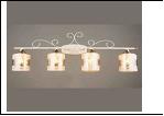 Бра 4-рожк. светильник 70446/4 (4) WT+FGD E27 720*165*275 бра