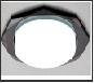 СТ пл.металл GX53 черн. восьмиугольник светильник Светильник G180 BK черный Ambrella