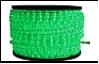 Дюралайт LED   2,0Вт зеленый круг 2-х жильный 36LED/м 13мм 100м (кратность резки 2м)