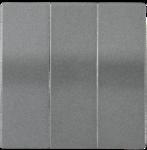 Болеро антрацит Панель лицев. Выкл 3кл ИЭК Bolero HB-3-0-БА  (1/24/240)