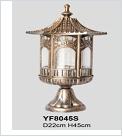 Св.улич. подстав. черн. золото LAMPADA ... YF8045S светильник