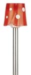 SL-SS36   Садовый светильник на солнечной батарее, нержавеющая сталь, стальной, цветной, 36 см ЭРА (1/24)