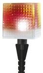 SL-PL20-СUB   Садовый светильник на солнечной батарее, пластик, прозрачный, черный, 20 см ЭРА (1/24)