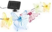 Украшение солн. черный ЭРА . светильник SL-PL600-BTF2   Садовый  на солнечной батарее, пластик, прозрачный, длина гирлянды - 6  (1/24)