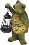 Украшение солн. зеленый ЭРА . светильник SL-RSN28-TRL   Садовый  на солнечной батарее, полистоун, цветной, 28 см  (1/6)