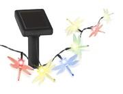 Украшение солн. черный ЭРА . светильник SL-PL550-DGF20   Садовый  на солнечной батарее, пластик, прозрачный, длина 550 см  (1/24)