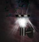 SL-SS23-FIX   Садовый светильник на солнечной батарее, сталь, стальной, 23 см ЭРА (1/8)