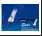 Компл. Изолирующий зажим для светодиодной ленты 3528, с отверстиями для проводов, 8 мм, цвет белый, материал-силикон, 20 штук в пакете, шк 46904850396