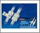 Компл. Клемма соединительная для светодиодных лент 3528, 2 контакта, IP20, цвет белый, 20 штук в пакете, шк 4690485039266