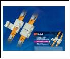 Компл. Клемма соединительная для светодиодных лент 5050, 2 контакта, IP20, цвет белый, 20 штук в пакете, шк 4690485039273