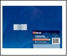Компл. UTC-K-12/A67-NNN CLEAR 005 POLYBAG Соединитель контактный прямой для светодиодных лент 220В 3528, 2 контакта, цвет прозрачный, 5 штук в пакете,