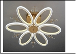 """Люстра """"LED 6"""" LED-3000К/4000К/6000К светильник потолочный 377/6YT (2) FGD+WT 710*200 LED 13/12W 6500/3000К  с ПДУ"""