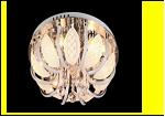 "Люстра ""зеркальная 6"" LED-White светильник потолочный 5771/6Y CR 45 E14 6W 3K RBP  с ПДУ"